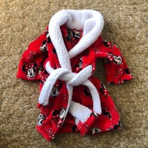 2T Minnie Mouse bathrobe